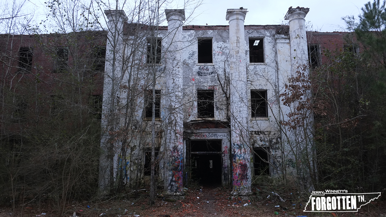 The Old Bryce Insane Hospital Forgotten Tennessee